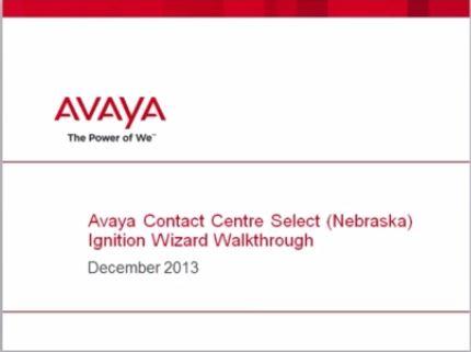Install Avaya ACCS Step by Step