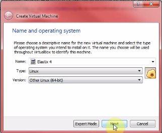 elastix virtualbox