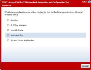 Avaya IP Office Platform Basic Integration and Configuration 7720T